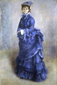 Pierre-Auguste Renoir. La Parisienne, 1874.