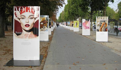 90 Years of Vogue Covers, Champs Elysee, Paris