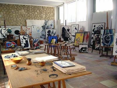 Pilar i Joan Miró a Mallorca Foundation
