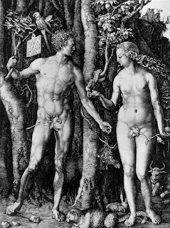 Park West Gallery. Albrecht Durer. Adam and Eve, 1504.