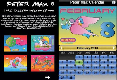 Peter Max. iPhone, iPod Touch