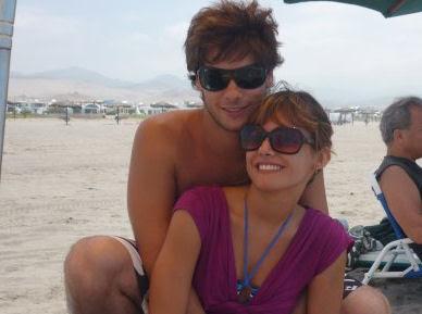 Valeria Bringas y Andrés Wiese