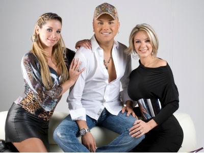 Sofía Franco junto a Carlos Cacho y Janine Leal