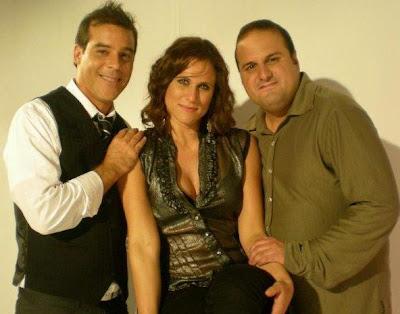 Adolfo Aguilar junto a Alexandra Graña y Luis Salas