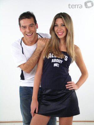 Adolfo Aguilar y Antuanette Reaño