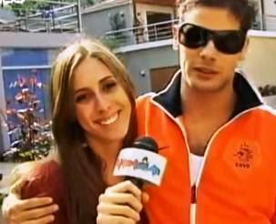 Daniela Camaiora con Andrés Wiese
