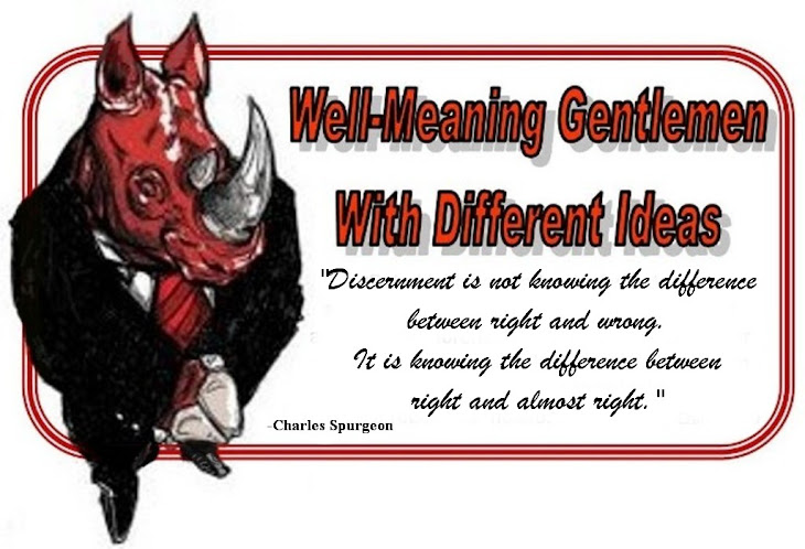 Well-Meaning Gentlemen With Different Ideas