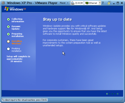http://1.bp.blogspot.com/_3Wc2ry2mANU/TPYoDpIZikI/AAAAAAAABN4/tj90uTlAo2o/s1600/windows-xp-pro-vmware-player-1.png ইনস্টল করুন উইন্ডোজ এক্সপি ১০ মিনিটের কম সময়ে