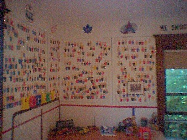 Hockey Bedroom Paint Ideas