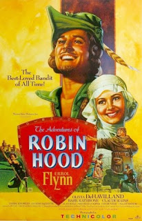 For an outlaw, this Robin Hood sure bathes regularly!