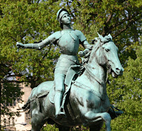 Joan of Arc statue in New York City