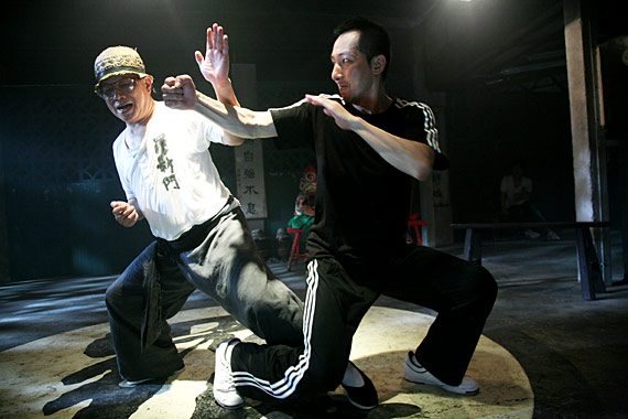 'Bruce' Leung Siu-Lung was presented with the first Fantasia Kung-Fu Star