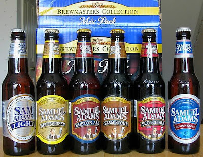 Sam Adams beer