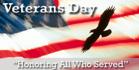 Applebee's Veterans Day 2012 Free Meal