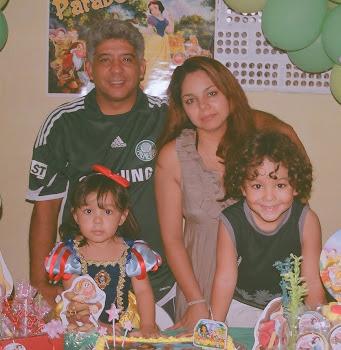 Minha linda e abençoada Família