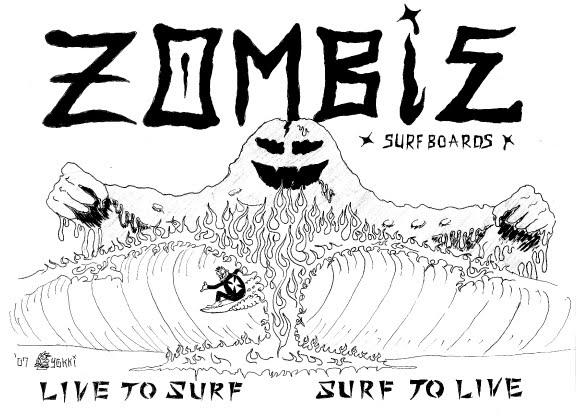 ZOMBIE SURFBOARDS