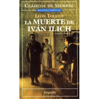 La Muerte de Iván Illitch, Portada edición española Longseller