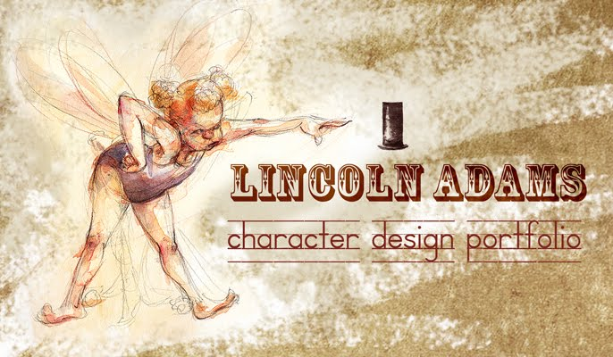 Lincoln Adams Character Design Portfolio