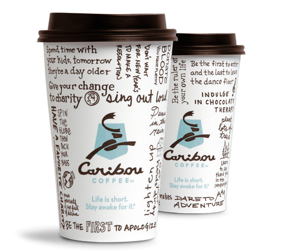 caribou coffee cups 20+ Unique Packaging Designs that are Fresh, New & Exciting to Inspire you