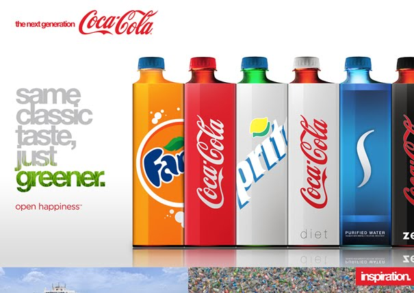 ecocoke01 20+ Unique Packaging Designs that are Fresh, New & Exciting to Inspire you