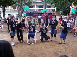 Fotos: Apresentação do Grupo de teatro.