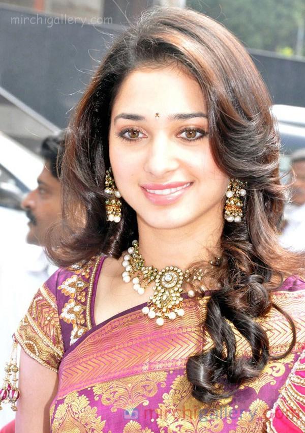 Tamanna Silk Saree in Actress Images