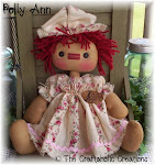 "Polly Ann ~ 11 1/2"" seated"