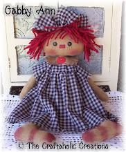"""Gabby Ann ~ 16"""" doll"""