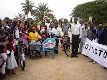 Entrega de Donativos ao Povo de Kinzau