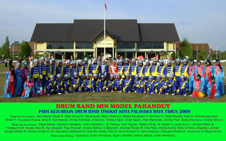 Group Drum Band MIN Model Pahandut