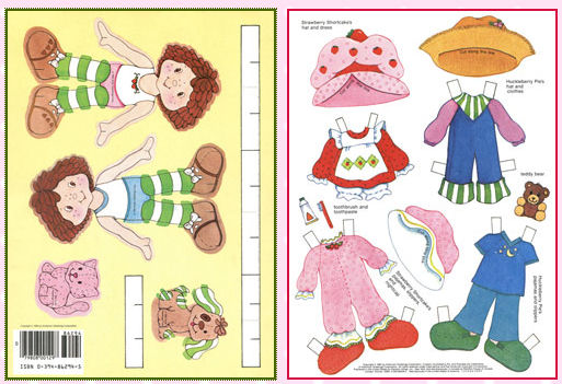 Huge List of Free Printable Paper Dolls