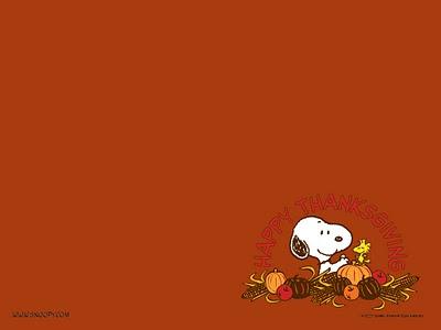 snoopy thanksgiving wallpaper free