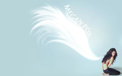 megan fox wallpapers wings tatoo