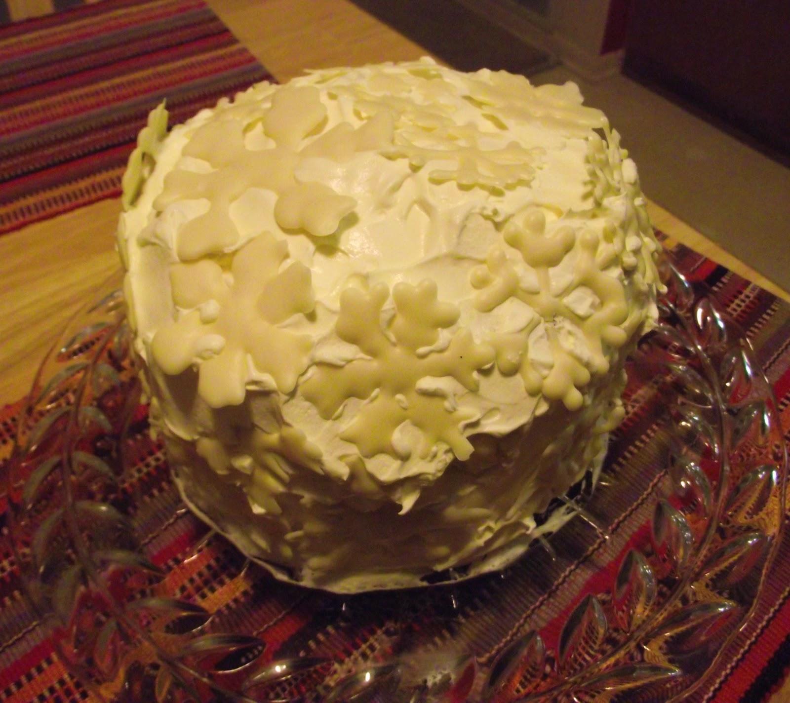 The Family Foodie Happy Birthday To Me Snowflake Cake