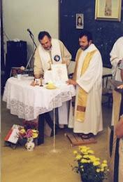 Pe. Antonello e Pe. Henrique: