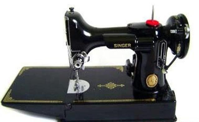 Gertie's New Blog For Better Sewing Help Me Name My New Sewing Machine Mesmerizing Bertha The Sewing Machine Girl