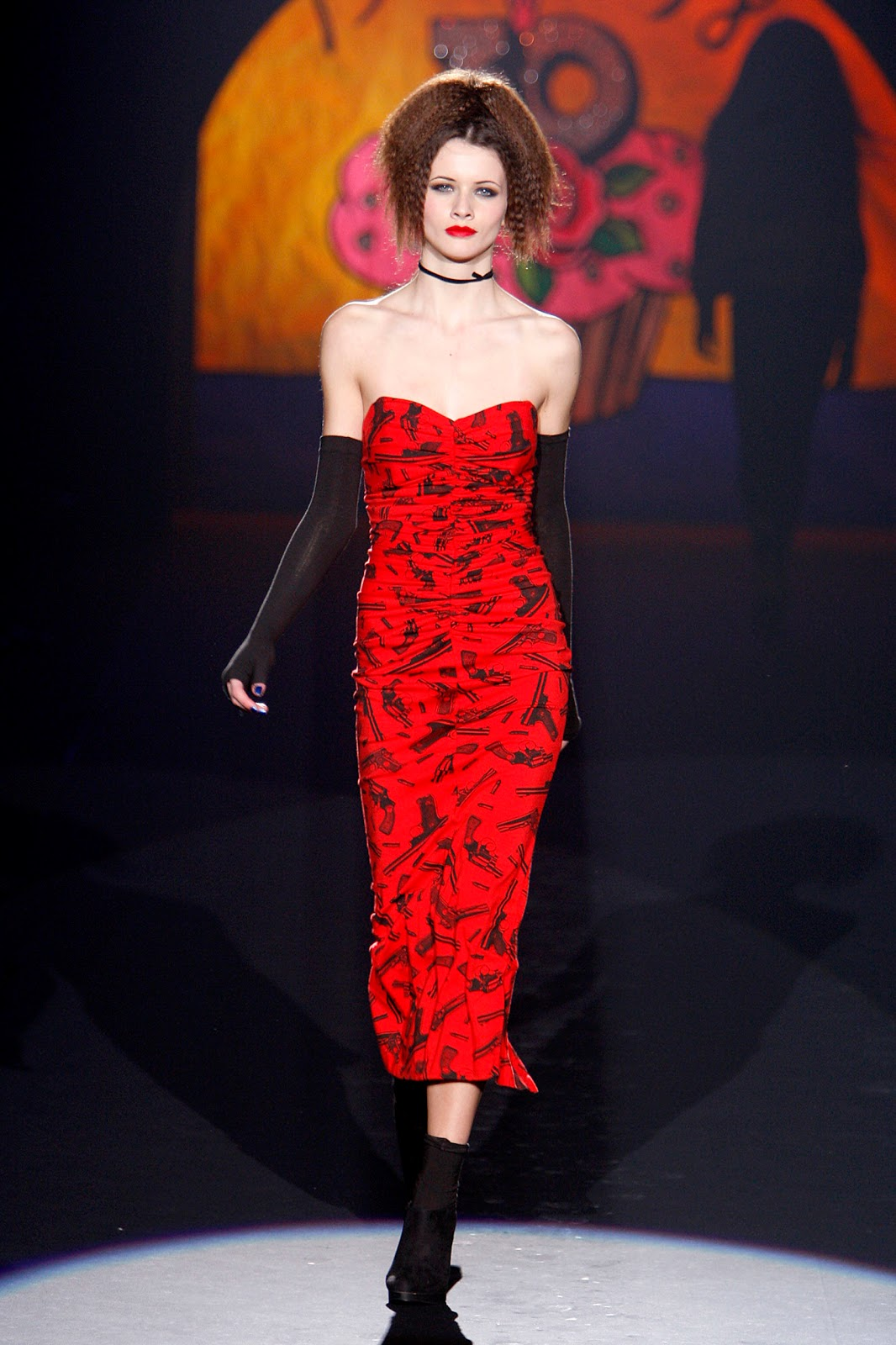 Gertie\'s New Blog for Better Sewing: Betsey Johnson\'s Gun Dress: Yea ...