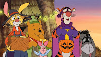 pooh and friends wallpaper for halloween