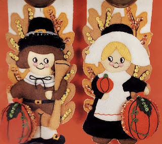 Thanksgiving Cute Couple Cards