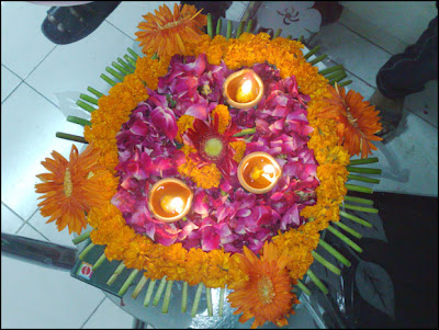 Deepawali Flower Wishes