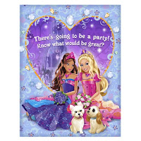Barbie Valentine Greeting Card