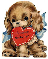 Valentine's Day Puppy Cards