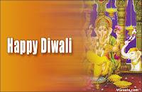 Ganesh Diwali Cards