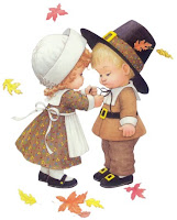 Printable Thanksgiving kids Card