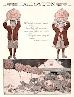 vintage halloween poem
