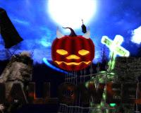 free 3d halloween ecards