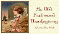 Old Fashioned Thanksgiving Cards