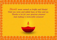 Elegant Deepawali Greetings