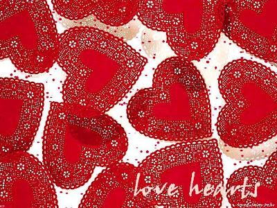 Celebration of Valentines day cards