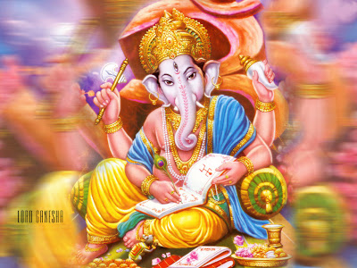 wallpaper of ganesh ji